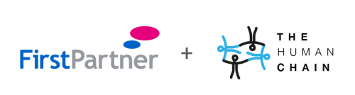 FirstPartner and The Human Chain logo